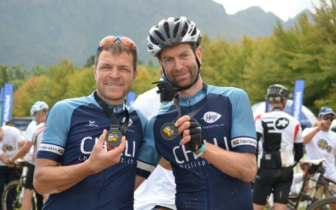 Cape Epic '14 Team Rothorn-Brien