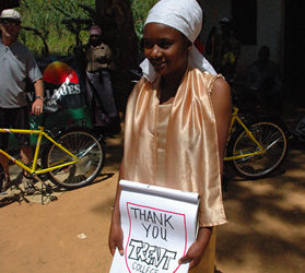 Meet The Recipients of Bikes in Tanzania