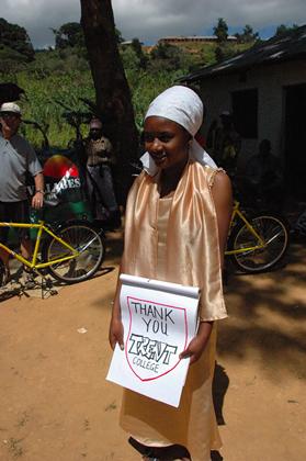 Meet The Recipients of Bikes in Tanzania